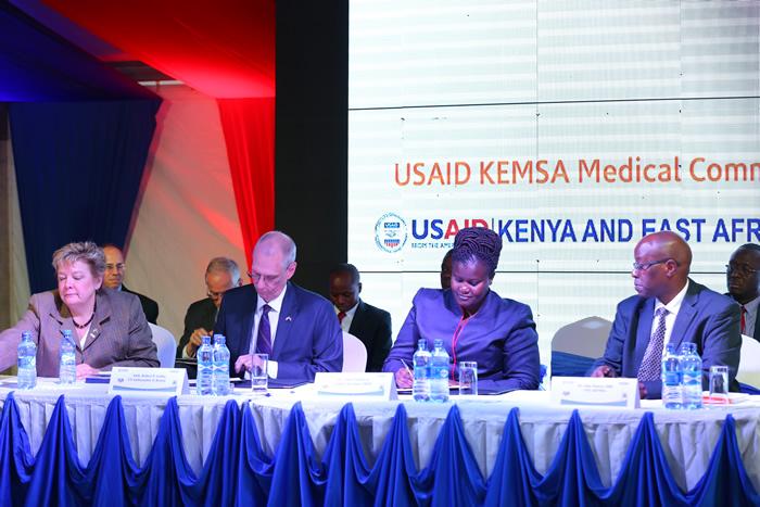 USAID, KEMSA SIGN Sh.65bn Medical Supplies Deal