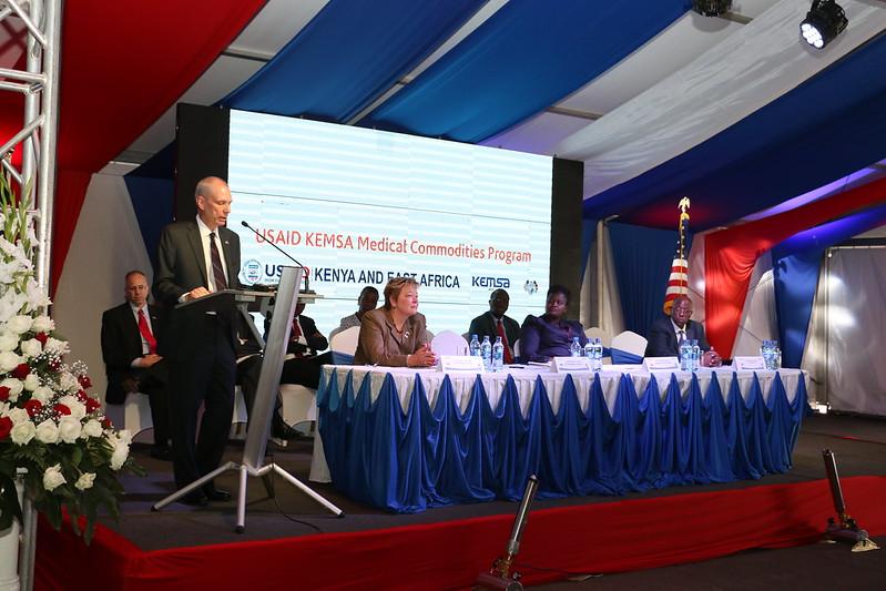 Remarks For US Ambassador Robert F. Godec During USAID KEMSA Medical Commodities Program Launch