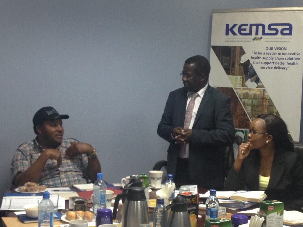 Kiambu County Pledges Continous Support to KEMSA