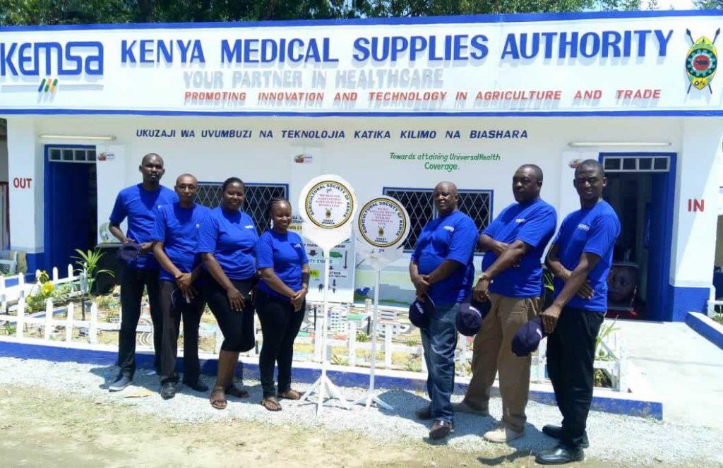 KEMSA Bags Awards at the Mombasa ASK Show