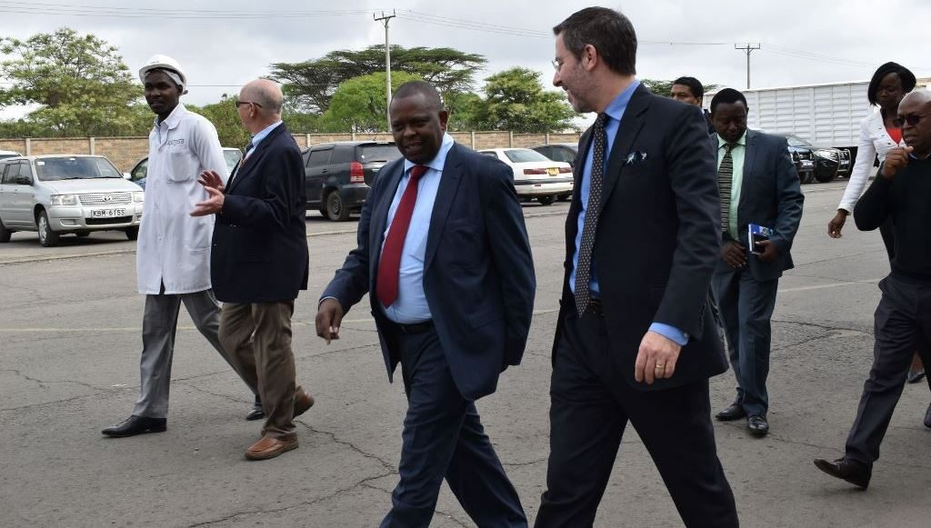 USAID Deputy Mission Director, USAID Kenya and East Africa delegation visit KEMSA