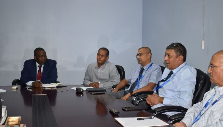 KEMSA CEO receives a delegation from the Federation of Kenya Pharmaceuticals Manufacturers (FKPM)