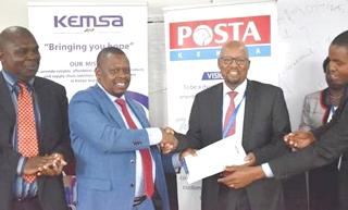 KEMSA enters into partnership with Postal Corporation of Kenya
