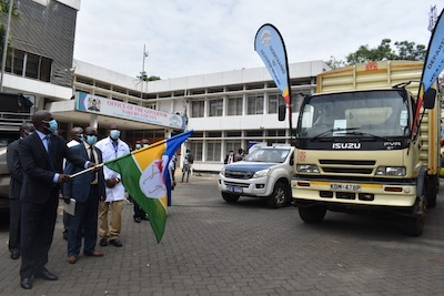 Nakuru County flag off